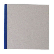 "Pasteboard Cover Sketchbook 100gsm 144pgs - 21cm x 21cm/8.3"" x 8.3"" - Blue"
