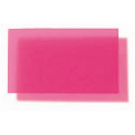 Translucent Coloured Polypropylene Matte - Raspberry