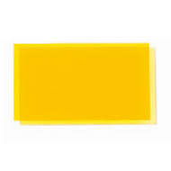 Transparent Coloured Rigid PVC - Yellow