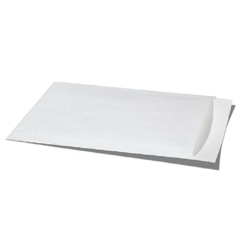 White Flat Bag Kraft Paper 500 Pieces - 95mm x 132mm