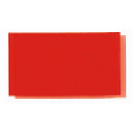Rosco E-Colour Filter Film Sheet - Flame Red