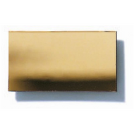 Polystyrene Coloured Mirror, Smooth - Gold