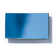 Polystyrene Coloured Mirror, Smooth - Ice Blue