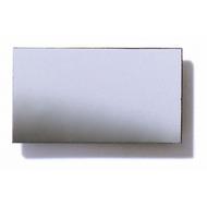 Polystyrene Coloured Mirror, Smooth - Silver