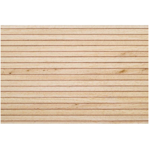 Model Boat Decking 1 5mm x 100mm x 1000mm - Obeche/Pear Wood