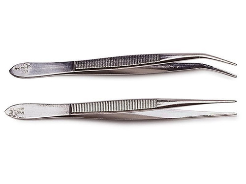 Pointed Tweezers, Curved - 120mm