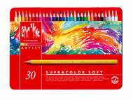 Supracolor Soft Aquarelle Pencil Assort. 30 Box Metal   |  3888.330