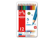 Fancolor Colour Pencils Assort. 12 Box Metal      1288.312