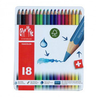Fancolor Colour Pencils Assort. 18 Box Metal   |  1288.318