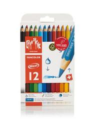 Fancolor Colour Pencils Maxi Assort. 12 Box   |  498.712