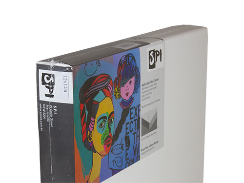 Readymade Canvas Deep Edge - Gallery (Side View)