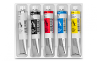 Gouache Studio 21ML Tube Assort. 5pcs. Cardboard Box   |  2103.305