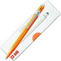 Caran D'Ache 849 Ballpoint Pen with Case - Fluo Orange  |  849.530
