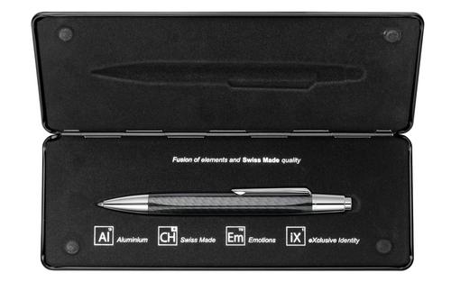 Caran D'Ache Alchemix Ballpoint Pen - Carbon