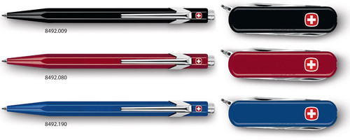 Duo Classic, Ballpoint Pen and Penknife Red | 8492.080