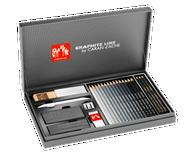 Gift Box Set - Caran D'Ache Graphite Line in Titanium Box | 3000.415