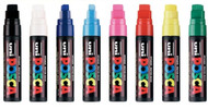 Uni Posca Broad Assorted Colours