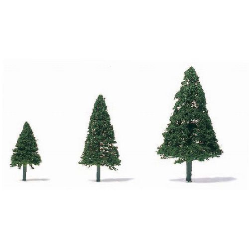 String and Wire Conifers - H=42mm