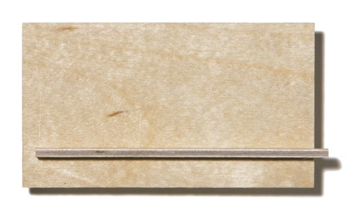 Birch Aircraft Plywood - 1.5 x 500 x 1000