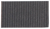Corrugated Cardboard Strips Fine - Dark Grey