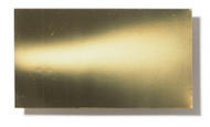 Brass pre-cut strips - 0.1mm x 300mm x 500mm