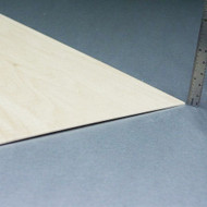 "Basswood Sheets - 1/16"" x 8"" x 24"""