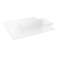 Precision Acrylic Transparent Colourless Glass - 1.0mm x 740mm x 1000mm