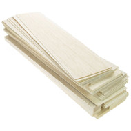 Balsa Wood Sheet - 6.5mm x 100mm x 915mm