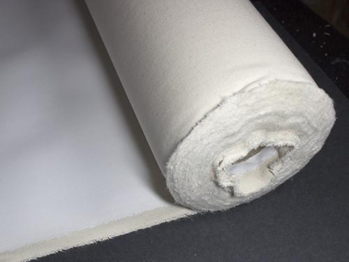 500GSM Black Primed Linen 10m Roll