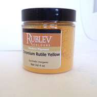 Rublev Colours Dry Pigments 100g - S3 Chromium Rutile Yellow