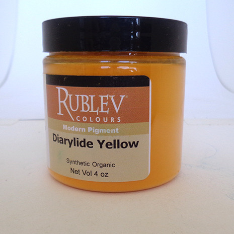 Rublev Colours Dry Pigments 100g - S3 Diarylide Yellow
