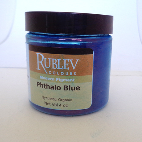 Rublev Colours Dry Pigments 100g - S3 Phthalo Blue