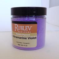Rublev Colours Dry Pigments 100g - S3 Ultramarine Violet