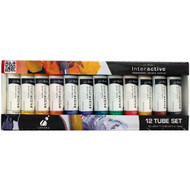 Atelier Interactive Artist Acrylics - 12 x 20ml Tube Set
