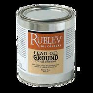 Rublev Oil Medium Lead Oil Ground (Quart) 32 Fl Oz | 510-8LWG32