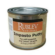 Rublev Oil Medium Impasto Putty 4 Fl Oz | 530-32504