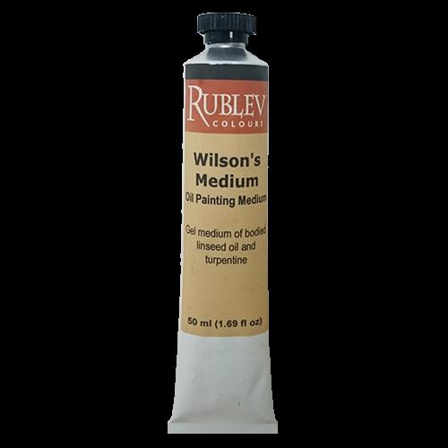Rublev Oil Medium Wilson's Medium 50ml | 530-41002