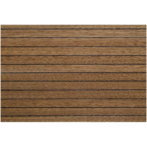 Model Boat Decking 1 5mm x 100mm x 333mm - Mahogany/Ebony