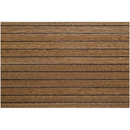 Model Boat Decking 1.5mm x 100mm x 333mm - Mahogany/Ebony