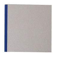 "Pasteboard Cover Sketchbook 100gsm 144pgs - 17cm x 17cm/6.7"" x 6.7"" - Blue"