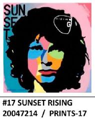 SUNSET RISING