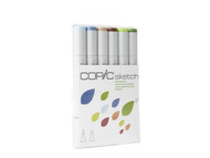 Copic Sketch Set 6 Earth Essentials