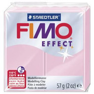 Steadtler FIMO Soft Effect Polymer Clay 57g Pastel Rose