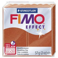 Steadtler FIMO Soft  Effect Polymer Clay 57g Metallic Copper