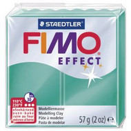 Steadtler FIMO Soft Effect Polymer Clay 57g Translucent Green
