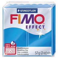 Steadtler FIMO Soft Effect Polymer Clay 57g Translucent Blue