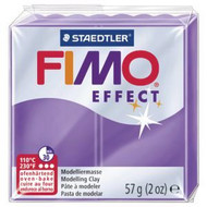 Steadtler FIMO Soft Effect Polymer Clay 57g Translucent Purple