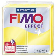 Steadtler FIMO Soft Effect Polymer Clay 57g Translucent Yellow