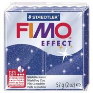 Steadtler FIMO Soft Effect Polymer Clay 57g Glitter Blue