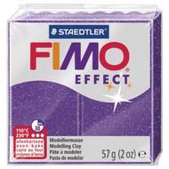 Steadtler FIMO Soft Effect Polymer Clay 57g Glitter Purple